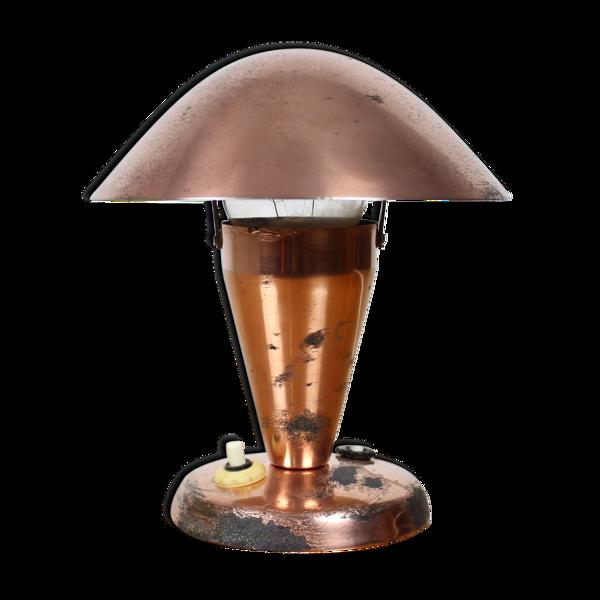 Lampes de table art déco chrome bauhaus années 1930