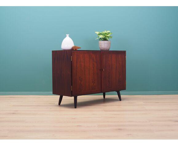 Commode en palissandre, design danois, années 70, fabricant: Hundevad &Co