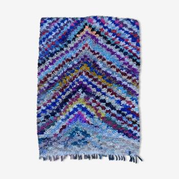 Tapis marocain berbère authentique boucherouite 200x150cm