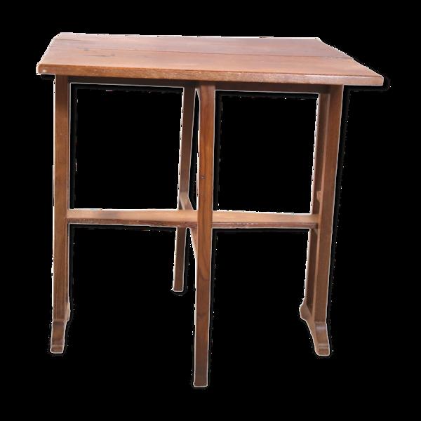 Table pliante en teck birman ancien