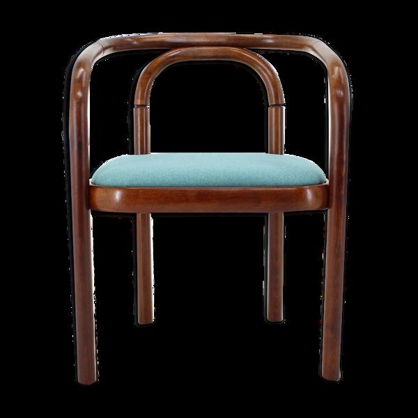 Chaise en bois plié vintage Ton, Tchécoslovaquie