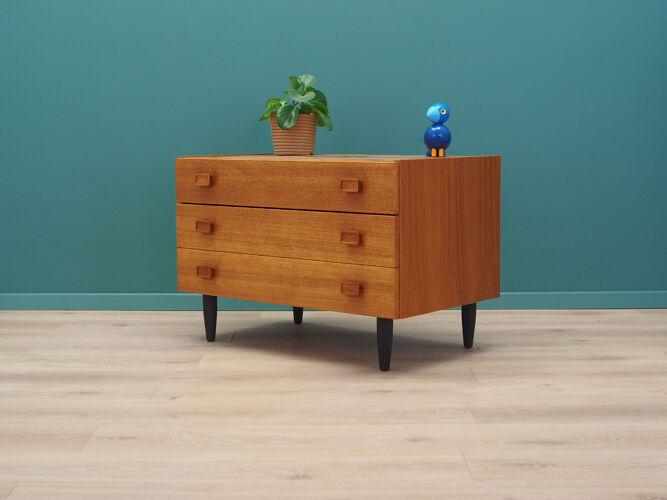 Armoire en teck, design danois, années 1980, fabricant: Denka
