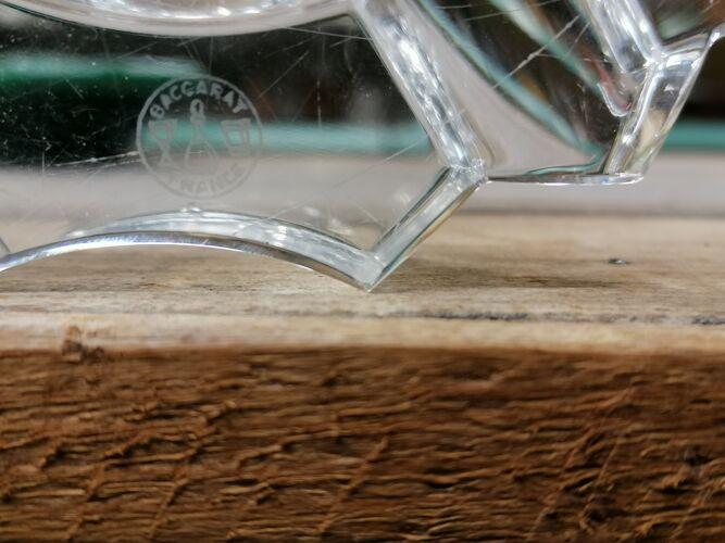 Cendrier cristal baccarat