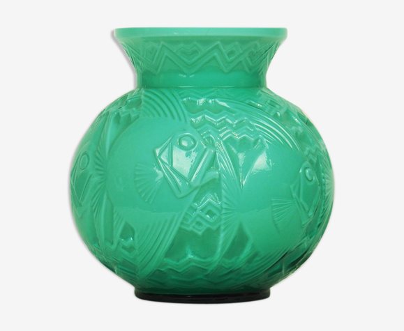 Vase Art Deco par Pierre d'Avesn