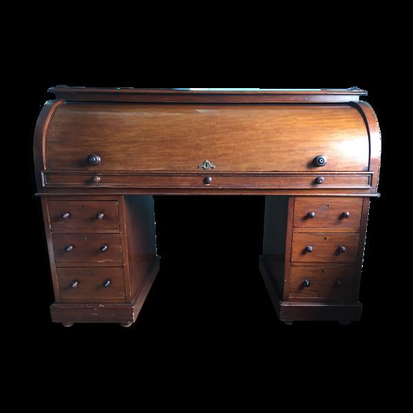 Bureau cylindre XIXème