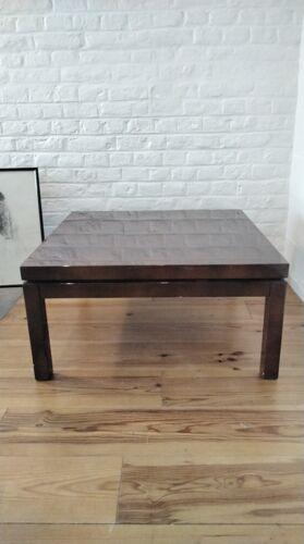 Coffee table vintage brown