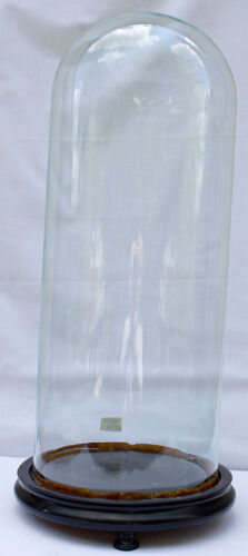 Antique globe en verre 46,5 x 18 cm