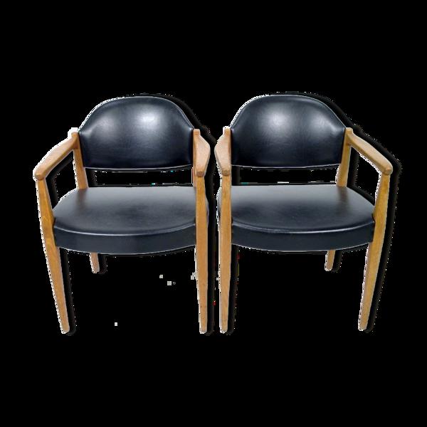 Paire de fauteuils scandinave, Suède, 1960