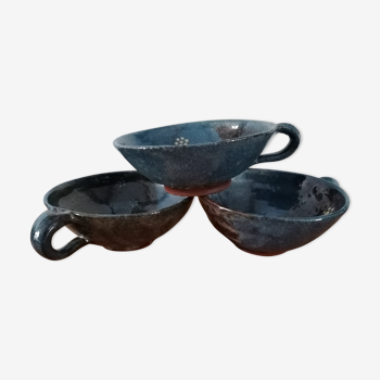 Pottery 3 cups