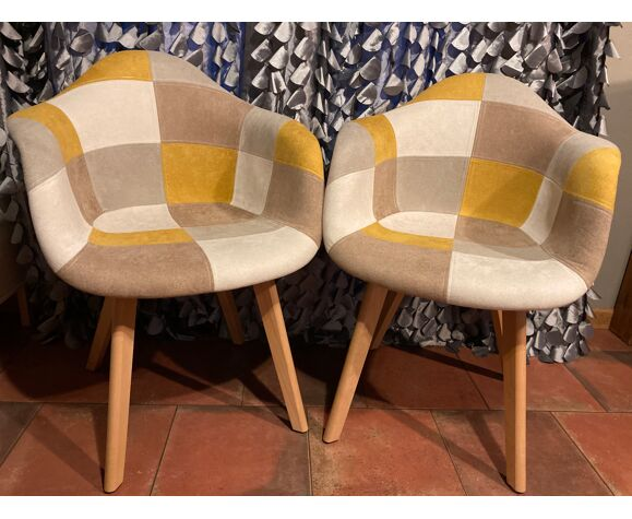 Nice patchwork chair