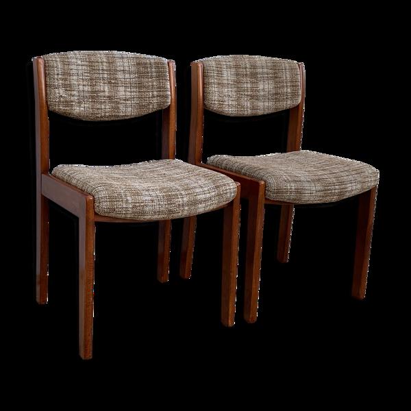 Selency Paire de chaises vintage 1970