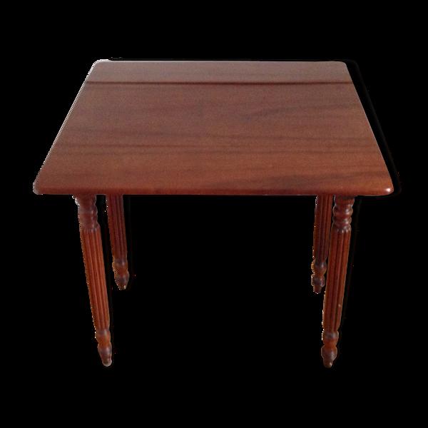 Selency Table d'appoint avec rabats