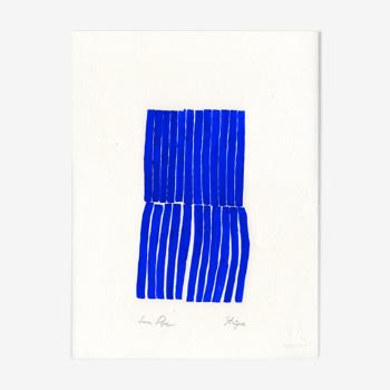 Œuvre d'art originale «Stripes»