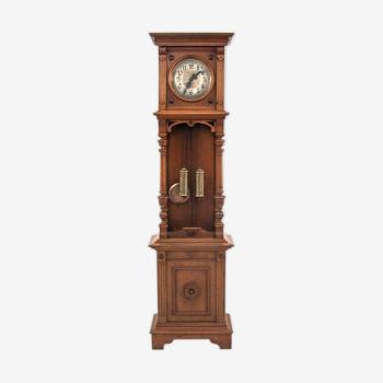 Antique Gustav Becker Standing Clock, Allemagne, vers 1890.