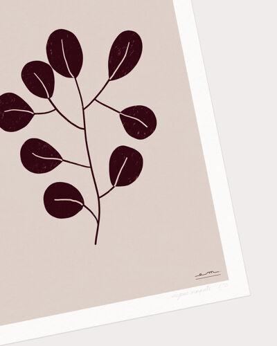 """Illustration """"herbier moderne"""" #2"""