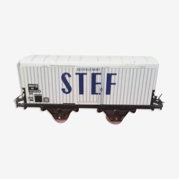 Wagon réfrigérant stef échelle o hornby par meccano