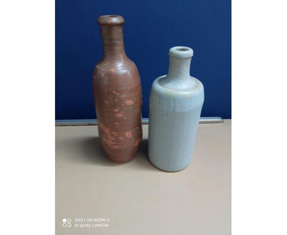 Vases en grès vintage