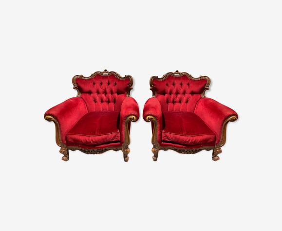 Paire de fauteuils Baroque Rococo