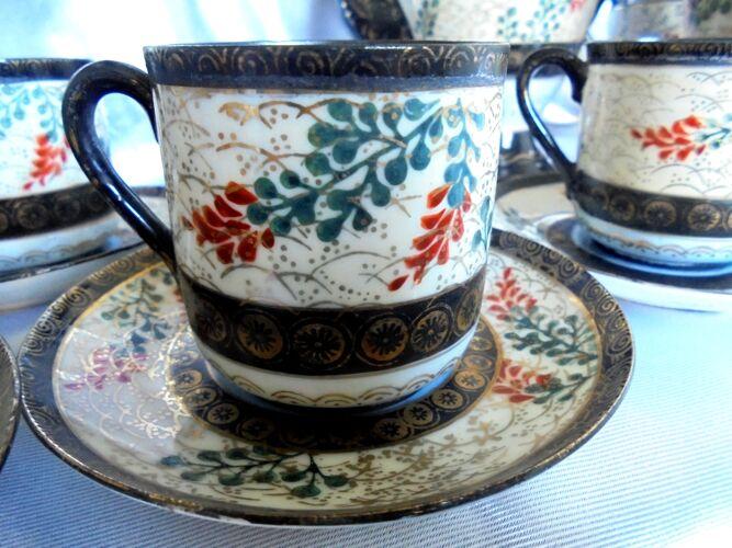Service à thé japonais 21 pièces