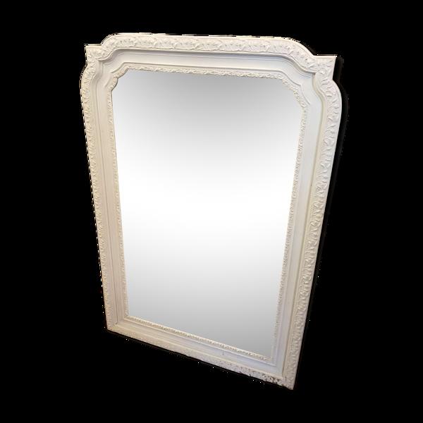 Miroir époque 19 éme peint 78x115cm
