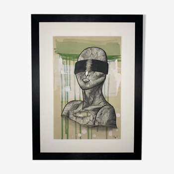 Collage 'Confidence' de la série 'Blindfolded'