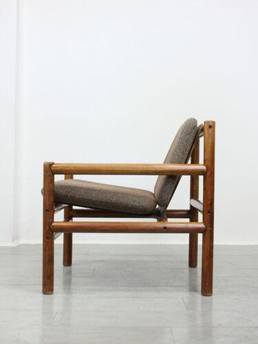 Mid-century modern minimalistic armchair