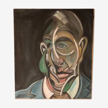 Peinture, portrait