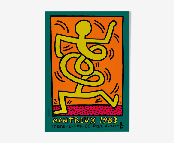 Keith Haring sérigraphie