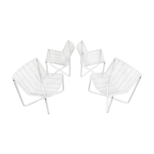 Suite de 4 fauteuils Jarpen