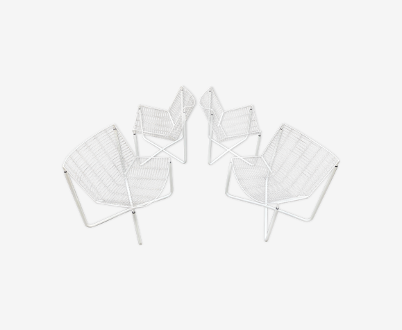 Suite of 4 Jarpen chairs