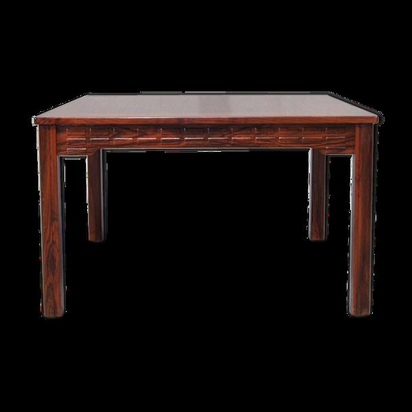 Table basse en bois de rose et wenge d'Alberts Tibro, années 1970