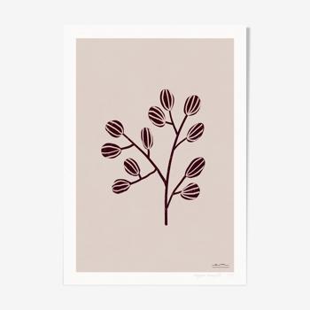 """Illustration """"Herbier moderne"""" #3"""