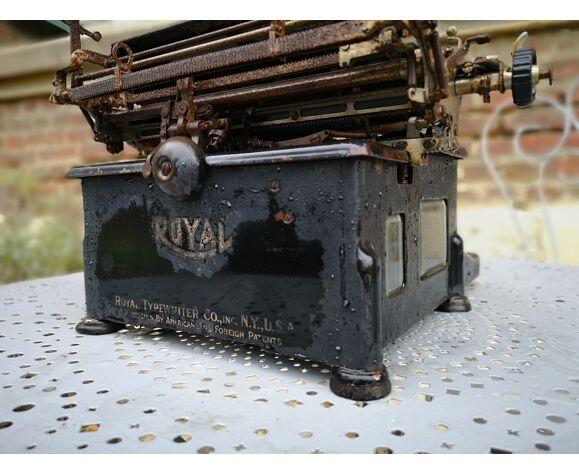 Machine à écrire royal 1900