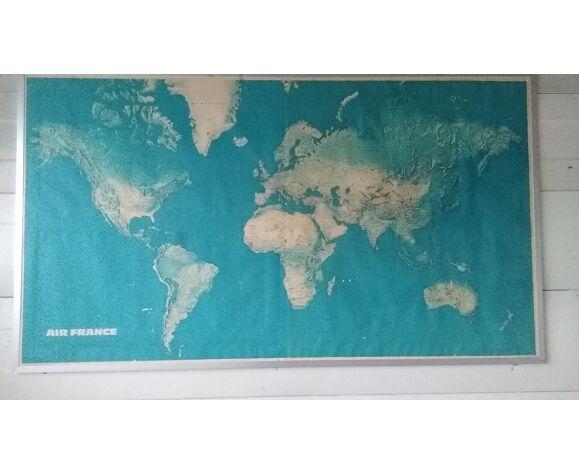 Planisphère Air France