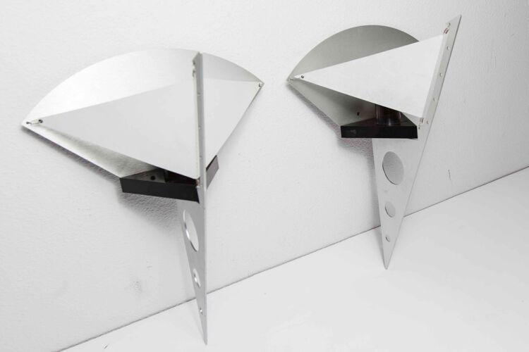Paire d'appliques Artemide filicudara par Steeve Lombardi