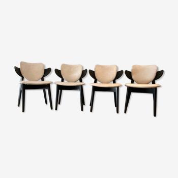 Lot de 4 chaises de salle à manger