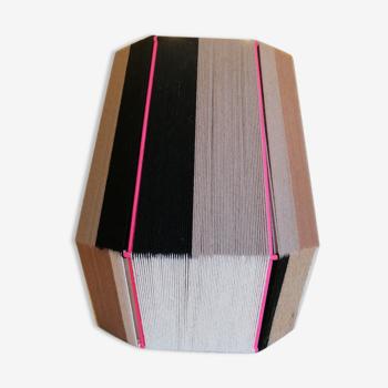 Lampe à poser tissée en fil de coton