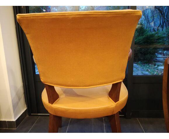 paire de fauteuils bridge années 50