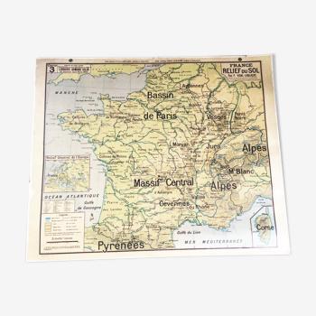 Carte géographique Vidal Lablache 3
