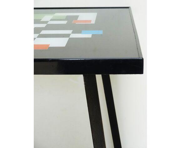 Table base design pieds métal