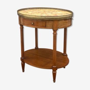 Table de salon en acajou de style louis xvi xix eme siècle