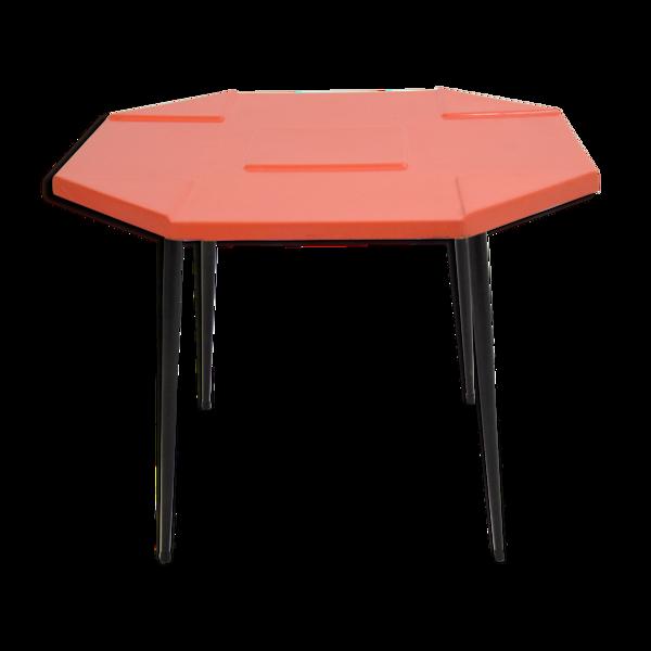 Table de cuisine vintage design années 60 / 70