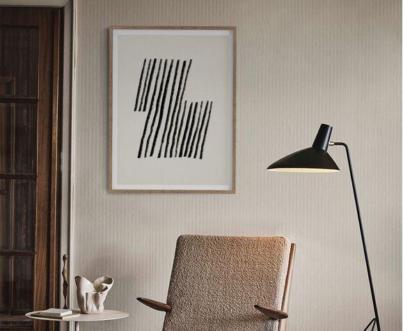 Impression d'art de giclée abstraite, A3