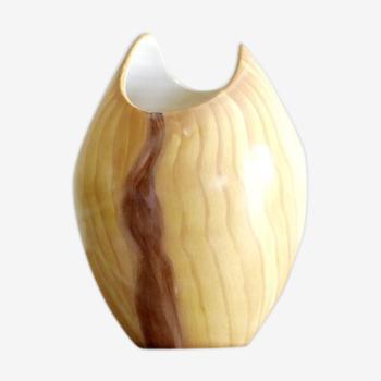 Vase en céramique Grandjean Vallauris, années 60