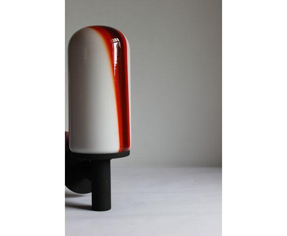 Lampe de véranda modèle Mico en verre de Murano par Renato Toso pour Leukos, 1972