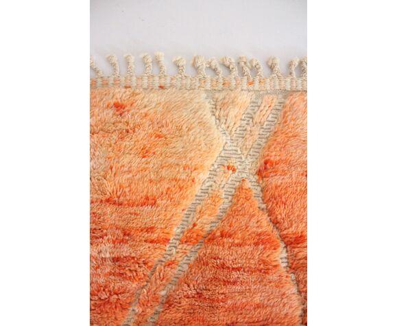 Tapis beni m'rirt orange 200x315cm