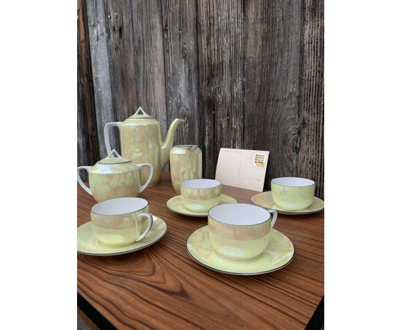 Ensemble de thé tchécoslovaque