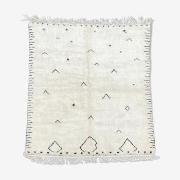 Moroccan carpet Beni Ourain 190x285 cm