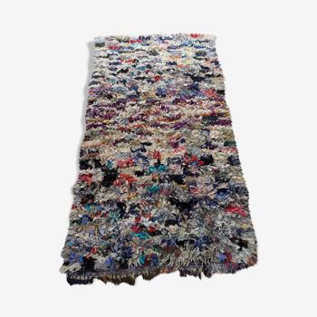 Tapis berbère boucherouite 250x130cm