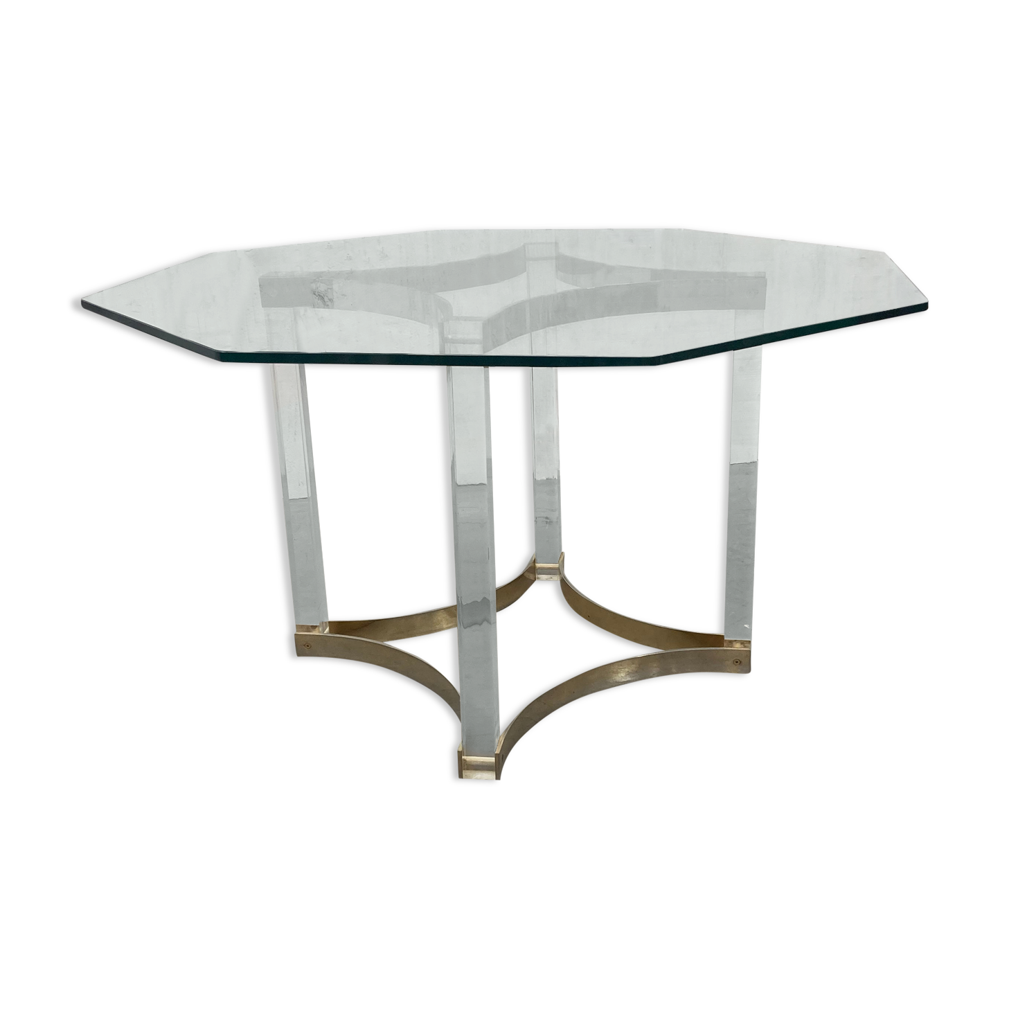 Table verre et Plexiglas de alessendro albrizzi